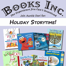 Holiday Storytime at Books Inc. Mountain View!