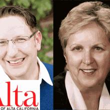 Alta Magazine & Books Inc. Present ERIC ROSSWOOD & KATHLEEN ARCHAMBEAU at Alameda