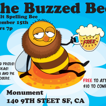 The Buzzed Bee: an Adult Spelling Bee