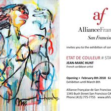 Opening - Exhibition of contemporary art - Jean-Marc Hunt