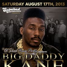 The Ol' Skool House Party' feat. BIG DADDY KANE with THE LAS SUPPER BAND