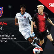 San Francisco Deltas vs Miami FC 9/9