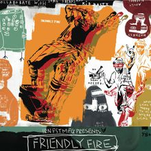 """""""FRIENDLY FIRE"""" The KID & DP Pro Model Shoe Release Party and Art Show"""