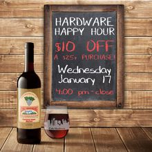 Hardware Happy Hour!