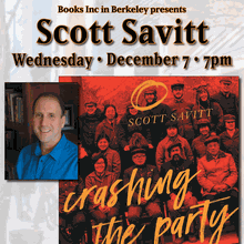 SCOTT SAVITT at Books Inc. Berkeley