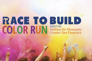 Race-to-Build Color Run, be...