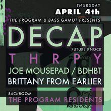 Bass Gamut ft. Decap, Thrpy, Bdhbt, JoeMousepad + more