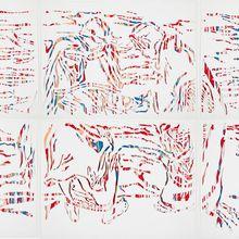 [living field]. litecut: Paper-cut Abstraction Exhibit
