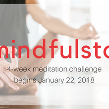 The #MindfulStart Meditation Challenge