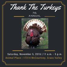 Thank the Turkeys Celebration