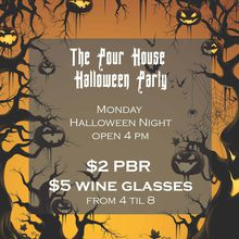 Halloween Party at The Pour House!