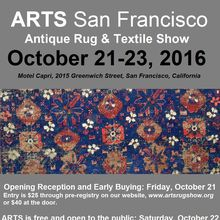 ARTS: Antique Rug & Textile Show