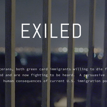 Exiled, Film Screening & Q&A session