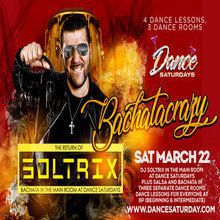 DJ Soltrix at Dance Saturdays - Bachata Nights w/ DJ SOLTRIX, Dance Lessons