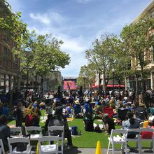 Warriors 9th Street Watch Party