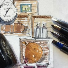 Fountain Pens for Sketching with FREE PEN!