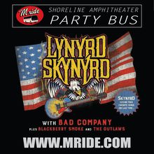 Lynyrd Skynyrd Shoreline Amphitheater Party Bus