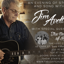 Jim Avett with The Next of Kin- Private Parlor Show (($20 before/$25 day of show))