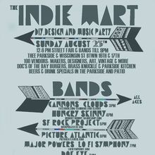 Indie Mart: DIY, Design & Music Party
