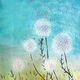 Painting and Vino: 'Dandelion Wish'