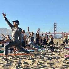 Silent disco beach yoga with Nat Kendall + LIVE DJ Avani!
