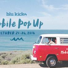 Blu Kicks Indian Summer Mobile Pop-Up at Kit & Ace