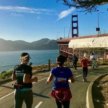 SB Presidio Fun Run hosted by San Francisco Road Runners Club