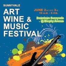 2018 Sunnyvale Art Wine & Music Festival