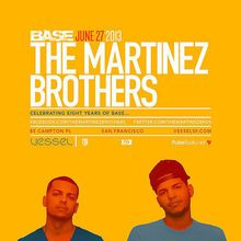Base 8 Year Anniversary: The Martinez Brothers