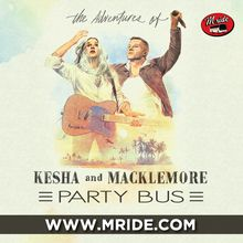 SF Party Bus - Macklemore and Kesha at Shoreline Amphitheater