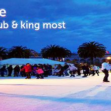 HUSH on Ice at Embarcadero