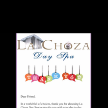 La Choza Day Spa 15% Off Thank You