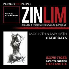 PEPPER Art Workshop : Zin Lim Figure Drawing (Express = Style!)