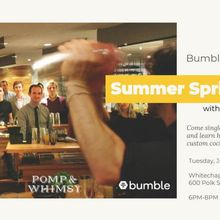 Summer Spritzes with Bumble and Pomp & Whimsy