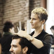 Free Men's Haircuts at the Cinta Aveda Institute