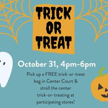 BAYFAIR CENTER TO HOST HALLOWEEN EVENT WITH FREE TRICK-OR-TREAT BAG FOR CHILDREN