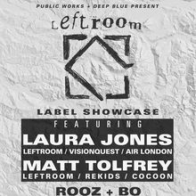 Leftroom Showcase with Laura Jones & Matt Tolfrey