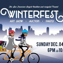 SF Bicycle Coalition's Winterfest Member Party