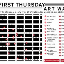SF First Thursday Art Walk