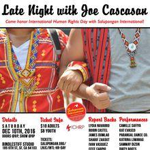 Late Night w/ Joe Cascasan