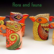 Flora & Fauna - Berkeley Potters Guild Holiday Show