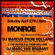 Q13:The 10th Annual Dutch Queensday or Koninginnedag Party