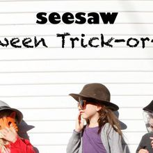 seesaw Halloween Trick-or-Treat