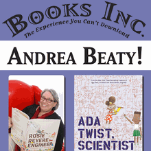 Storytime with ANDREA BEATY at Laurel Village