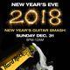 Hard Rock Cafe San Francisco New Year's Eve Guitar Smash 2018
