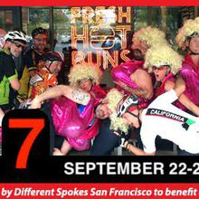 Bike 200 miles around the Bay- Double Bay Double/Dolly Renegade Ride