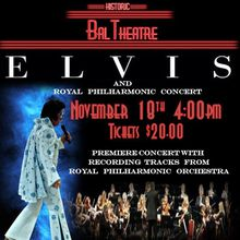Elvis Tribute Artist Rick Torres and the Royal Philharmonic Show!