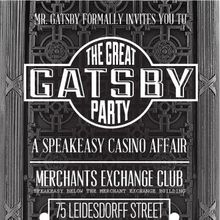 The Great Gatsby Party at the Merchants Exchange Club