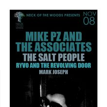 MIKE PZ AND THE ASSOCIATES The Salt People, RYVO and the Revolving Door, Mark Joseph