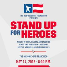 Bob Woodruff Foundation's Annual Stand Up for Heroes Benefit